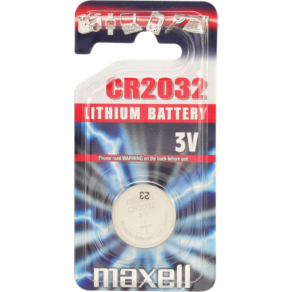 maxell cr2032 mainboardbatterie knopfzelle lithium 3v 1er blister ebay. Black Bedroom Furniture Sets. Home Design Ideas