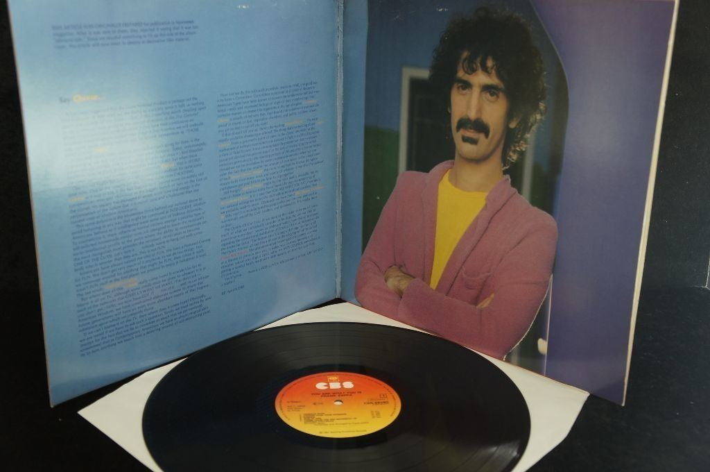 Frank zappa you are what you is kostenloser versand ebay for Frank versand