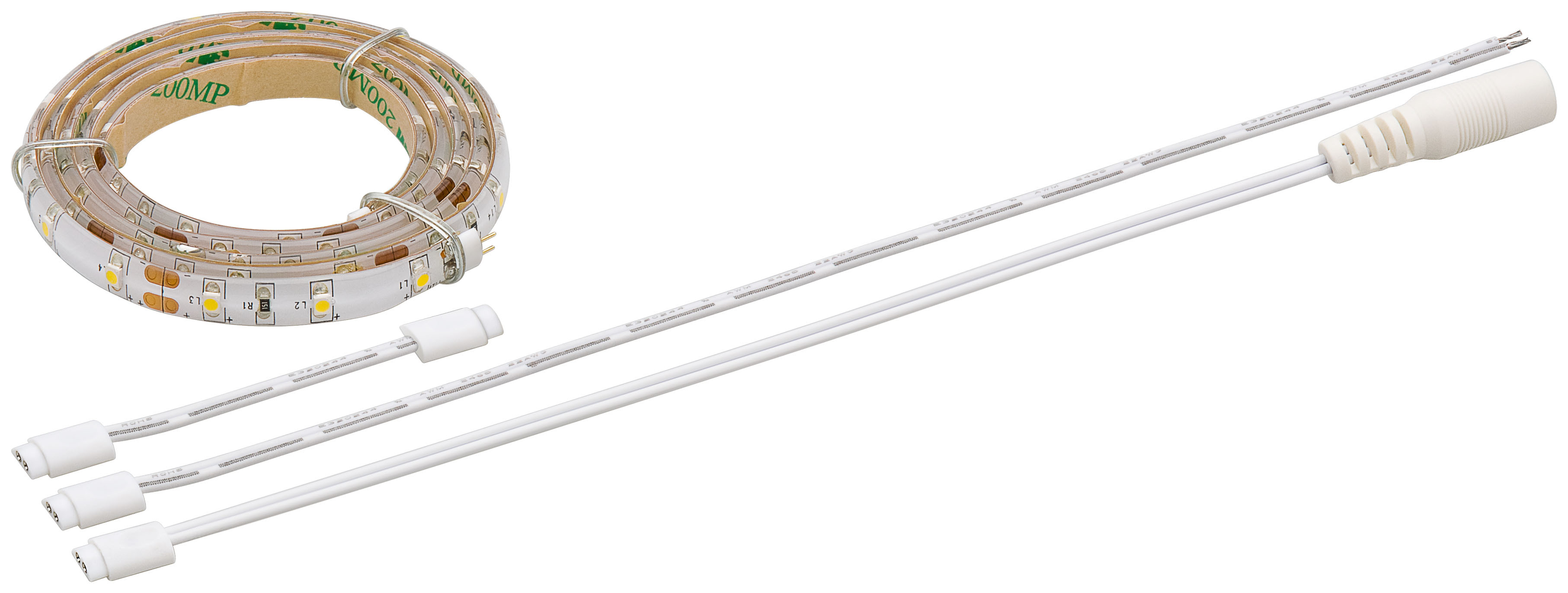 flexible led lichtleiste in ambient wei 0 5 m led leiste flex sb 30 smd ambien ebay. Black Bedroom Furniture Sets. Home Design Ideas
