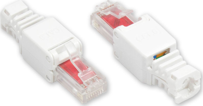 Mobile Preview: RJ45 Stecker Cat. 6, werkzeugfrei, Good Connections®
