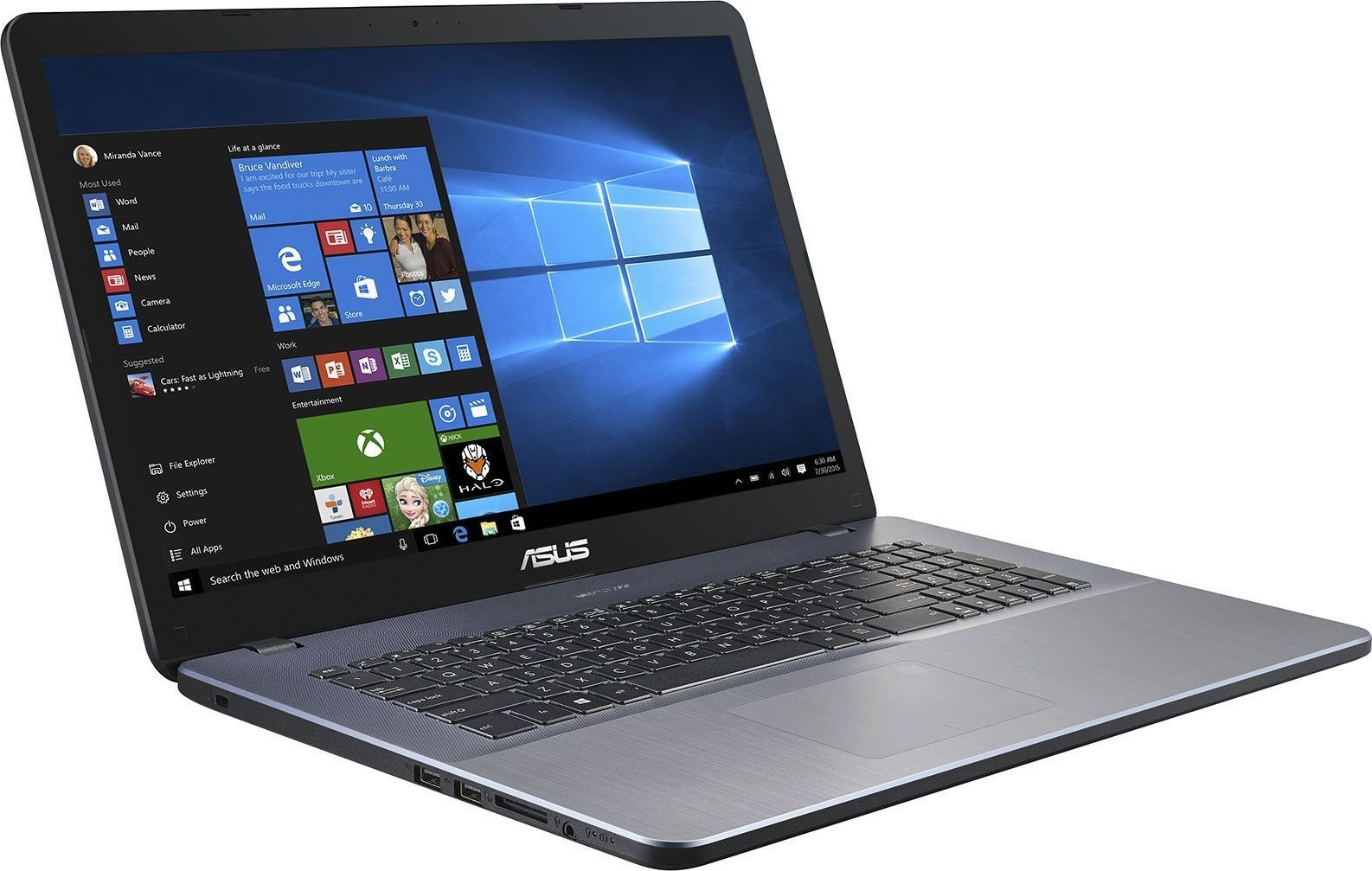 "Preview: ASUS P1700UA-BX816 17,3""HD+ i5-8250U/8GB/256GB SSD EndlessOS"