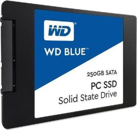 "SSD 250GB WD Blue 2,5"" SATAIII intern bulk"