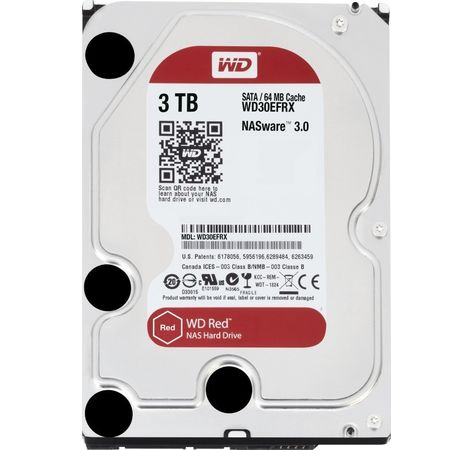 3TB WD30EFRX RED
