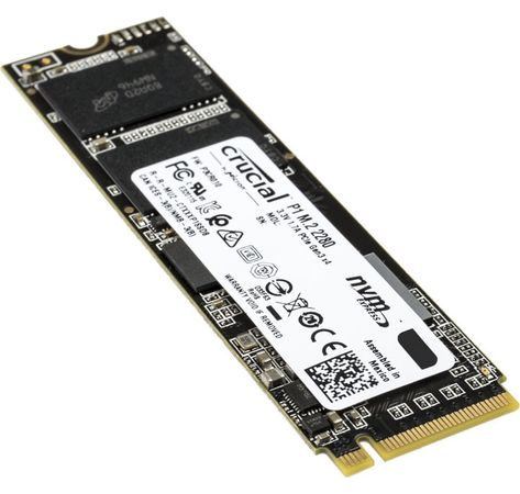 SSD 500GB Crucial M.2 (2280) P1 NVMe PCIe 3D 7mm retail