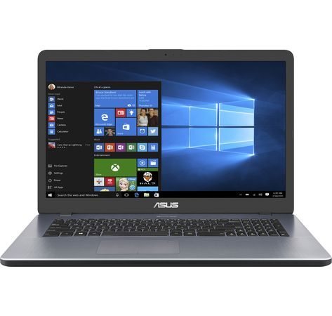 "ASUS VivoBook 17,3"" F705UA-BX121T Intel i3-7100U, 8GB RAM, 256GB SSD, Intel HD-Grafik 620, Windows 10) star grey"