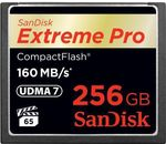 Sandisk COMPACT FLASH CARD 256GB