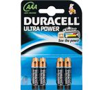 DURACELL Batterie Ultra Power Alkaline Micro AAA LR03 1,5V PowerCheck 4er-Bli