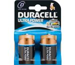 DURACELL Batterie Ultra Power Alkaline Mono D LR20 1,5V PowerCheck 2er-Bli