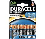 DURACELL Batterie Ultra Power Alkaline Micro AAA LR03 1,5V PowerCheck 8er-Bli