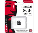 Kingston Technology 8GB MICROSDHC UHS-I CLASS 10