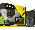 Zotac GTX 1050 TI Mini 4096MB,PCI-E,DVI,HDMI,DP