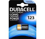 DURACELL Batterie Ultra Lithium Foto CR123 DL123 1er-Bli