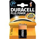 DURACELL Batterie Plus Power Alkaline MN1604 2022 6F22 6LR61 9V-Block 1er-Bli