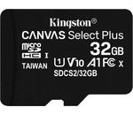 Kingston Technology 32GB MICROSDHC CANVAS SELECT