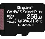 Kingston Technology 256GB MICROSDXC CANVAS SELECT