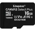 Kingston Technology 16GB MICROSDHC CANVAS SELECT