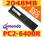 QIMONDA DDR2-800 2048MB CL5-5-5 ECC Registered DIMM