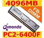 QIMONDA 4096MB DDR2-800 ECC Fully Buffered