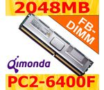 QIMONDA 2048MB DDR2-800 ECC Fully Buffered