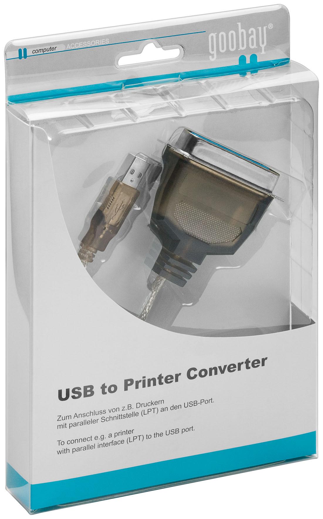 USB Zu Parallel Konverter Adapter Kabel USB