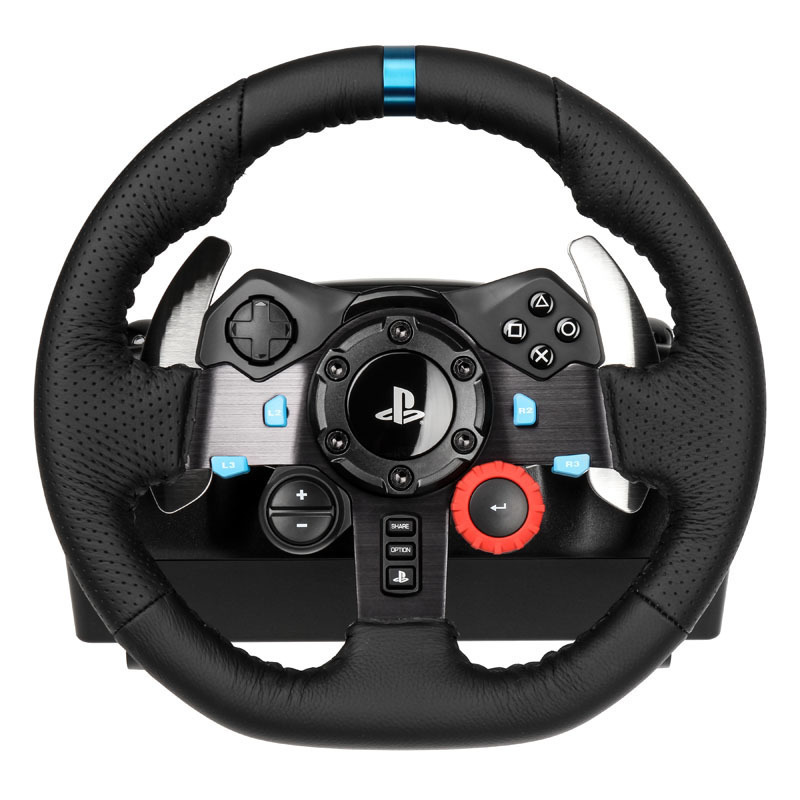 logitech g29 high end racing wheel f r ps4 ps3 pc ebay. Black Bedroom Furniture Sets. Home Design Ideas