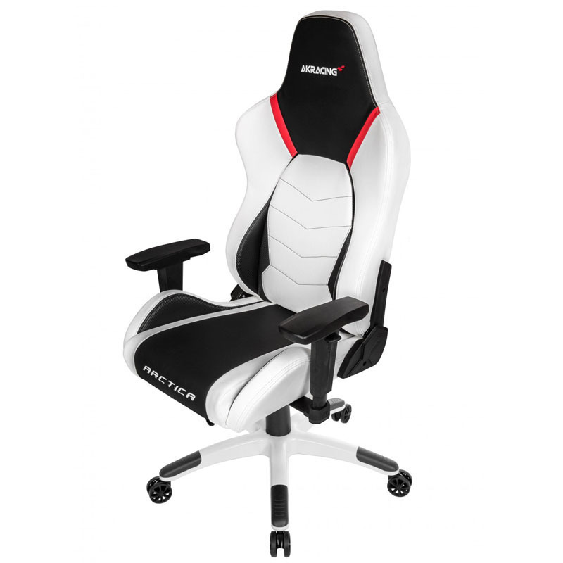 akracing arctica gaming stuhl wei ebay. Black Bedroom Furniture Sets. Home Design Ideas