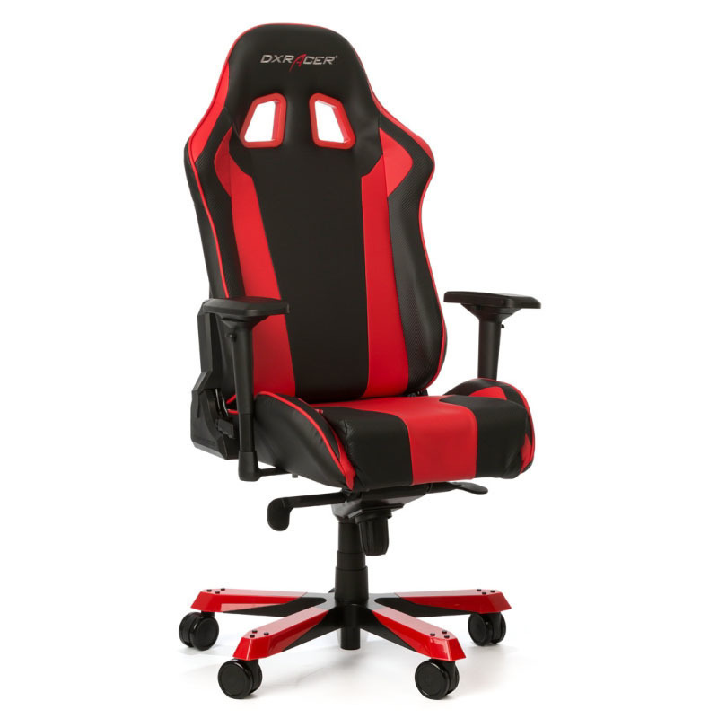 Dxracer king k06 nr gaming stuhl schwarz rot ebay - Gaming stuhl ebay ...