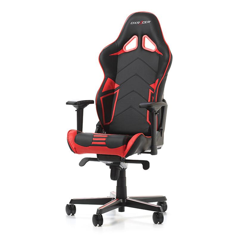 DXRacer Racing Pro R131 NR Gaming Stuhl Schwarz Rot