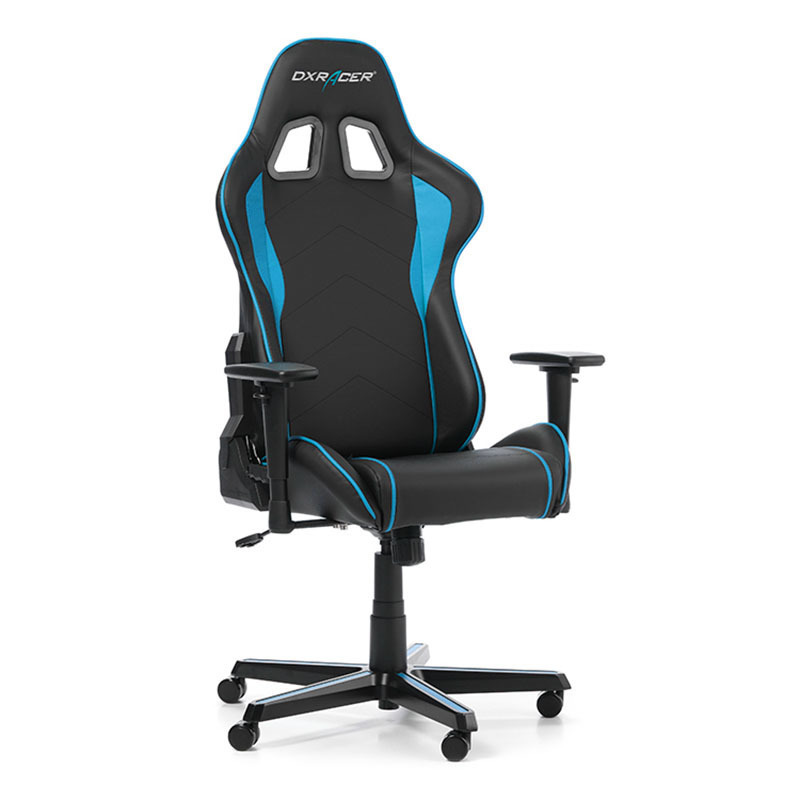 dxracer formula f08 nb gaming stuhl schwarz blau 7340136115159 ebay. Black Bedroom Furniture Sets. Home Design Ideas